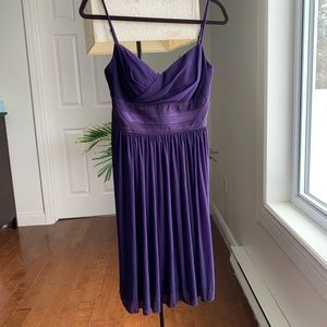 Le Chateau purple cocktail dress